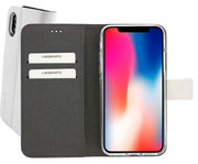 Mobiparts Premium Wallet iPhone XS / X hoesje Wit