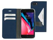Mobiparts Classic Wallet iPhone SE 2020 / 8 hoesje Blauw