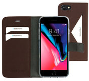 Mobiparts Classic Wallet iPhone 8 / 7 hoesje Bruin
