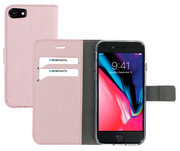 Mobiparts Saffiano Wallet iPhone 8 / 7 hoesje Rose