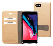 Mobiparts Saffiano Wallet iPhone 8 / 7 hoesje Copper