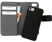Mobiparts 2 in 1 Wallet iPhone 8 / 7 hoesje Zwart