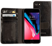 Mobiparts Excellent Wallet iPhone 8 / 7 hoesje Zwart