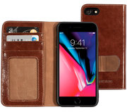 Mobiparts Excellent Wallet iPhone 8 / 7 hoesje Cognac