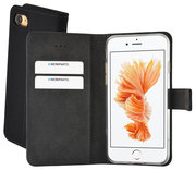Mobiparts Premium Wallet iPhone 8 / 7 hoesje Zwart