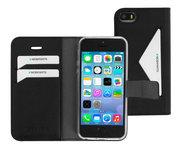 Mobiparts Classic Wallet iPhone SE / 5S hoesje Zwart