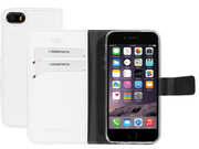 Mobiparts Saffiano Wallet iPhone SE / 5S hoesje Wit