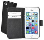 Mobiparts Premium Wallet iPhone SE / 5S hoesje Zwart