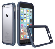 RhinoShield CrashGuard iPhone 6S bumper hoesje Blauw