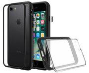 RhinoShield Mod NX iPhone 8/7 hoesje Zwart