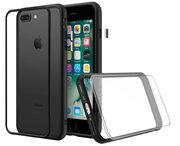 RhinoShield Mod NX iPhone 8/7 Plus hoes Zwart