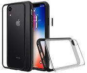 RhinoShield Mod NX iPhone XR hoesje Zwart
