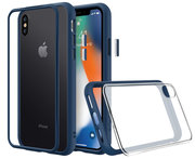 RhinoShield Mod NX iPhone XS Max hoes Blauw