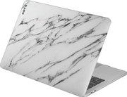 LAUT Huex Marble MacBook Pro 13 inch USB-C hardshell Wit