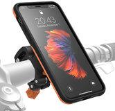 Morpheus M4S iPhone XR fietshouder kit Oranje