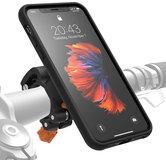 Morpheus M4S iPhone XS Max fietshouder kit Zwart
