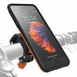 Morpheus M4S iPhone 8 Plus fietshouder kit Oranje