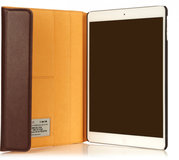 Knomo Premium Leather Folio case iPad Air Brown