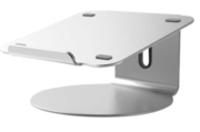 Pallo Pout Eyes 4 aluminium 360 graden laptop stand Zilver