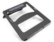 Desire2 View aluminium opvouwbare laptop standaard Zwart