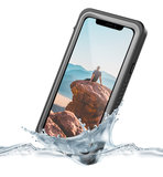 Vizu ExtremeX Waterdicht iPhone XR hoesje Zwart