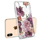 Spigen Ciel iPhone XS hoesje Rose Floral