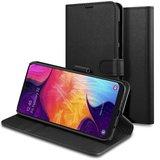 Spigen Wallet Galaxy A50 hoesje Zwart