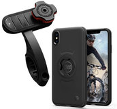 Spigen Gear Lock Bike Kit iPhone X / XS fietshouder Zwart