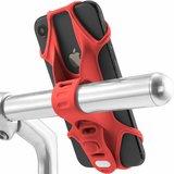 Bone Bike Tie 2 universele telefoon fietshouder Rood