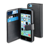 Muvit Slim Wallet iPhone SE/5S case Black
