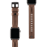 UAG Leather Apple Watch 44 mm strap bandje Bruin