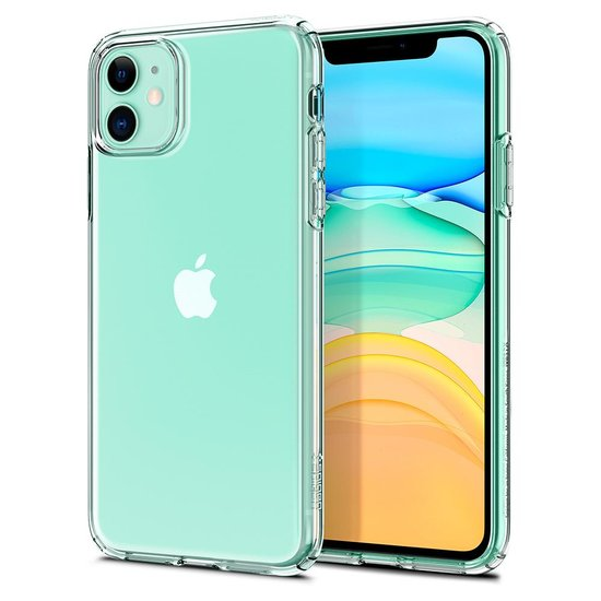 Spigen Liquid Crystal iPhone 11 hoesje Doorzichtig