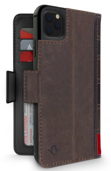 Twelve South BookBook iPhone 11 Pro hoesje Bruin