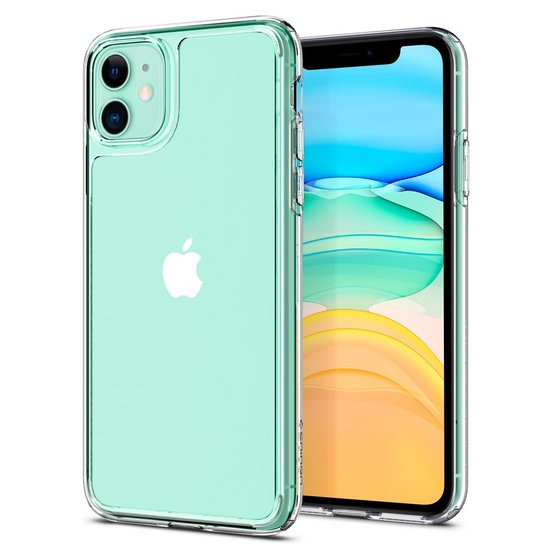 Spigen Quartz Hybrid iPhone 11 hoesje Doorzichtig