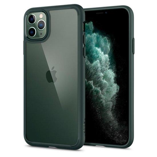 Spigen Ultra Hybrid iPhone 11 Pro hoesje Groen