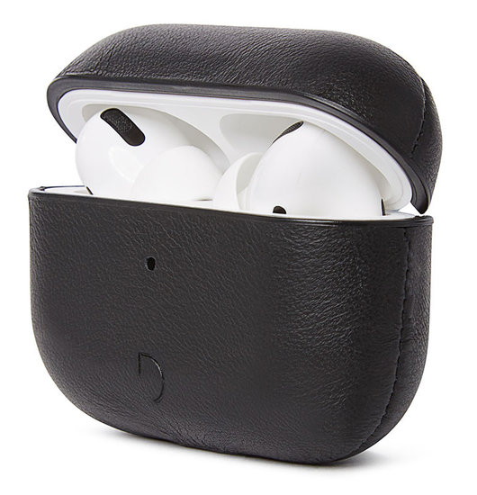 Decoded Leather AirPods Pro hoesje Zwart