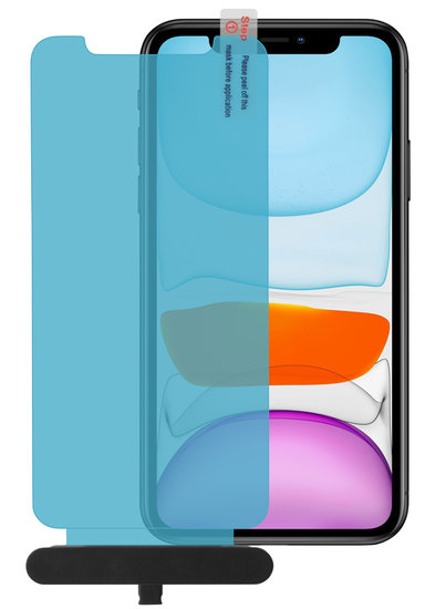 Glaasie iPhone 11 Edge to Edge Glazen screenprotector