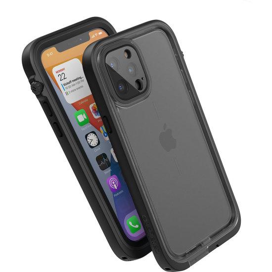 Catalyst Total Protection Waterdicht iPhone 12 Pro hoesje Zwart