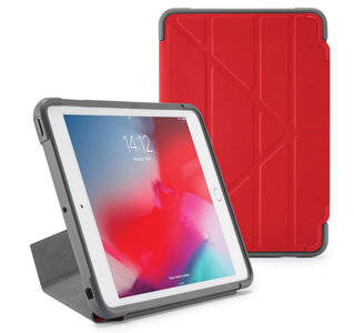 Pipetto Rugged Origami iPad mini 2019 hoesje Rood