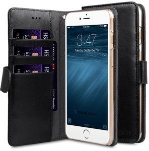 Melkco Wallet iPhone 8 hoesje Zwart