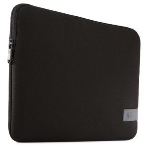 Case Logic Reflect MacBook 13 inch USB-C sleeve Zwart