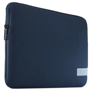 Case Logic Reflect MacBook 13 inch USB-C sleeve Blauw