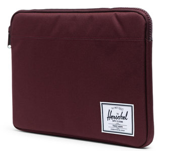 Herschel Anchor MacBook 13 inch USB-C sleeve Plum
