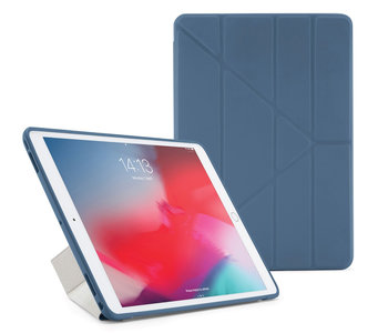 Pipetto Origami TPU iPad Air 2019 10,5 inch hoesje Navy