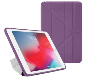 Pipetto Origami TPU iPad Air 2019 10,5 inch hoesje Paars
