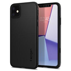 Spigen Thin Fit iPhone 11 hoesje Zwart