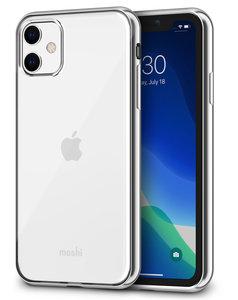 Moshi Vitros iPhone 11 hoesje Zilver