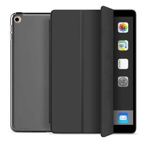 TechProtection Smart iPad 2019 10,2 inch hoesje Zwart