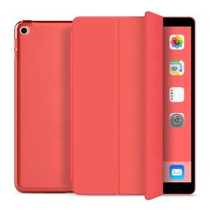 TechProtection Smart iPad 2019 10,2 inch hoesje Rood
