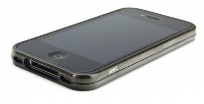 Xqisit iVest Aluminum Bumper iPhone 4/4S Black